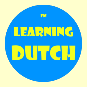 I'm Learning Dutch Button