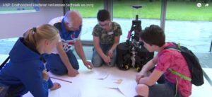 Robot-workshop tijdens High Tech 2Discover